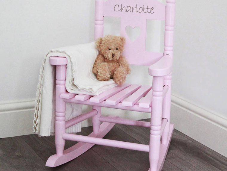Kids-Wooden-Rocking-Chair-Pink