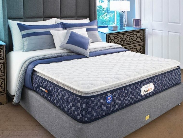 queen-size--78-x-66---8-inch-medium-firm-bonnell-spring---foam-proactive-plus-collection-mattress-by-iibigi
